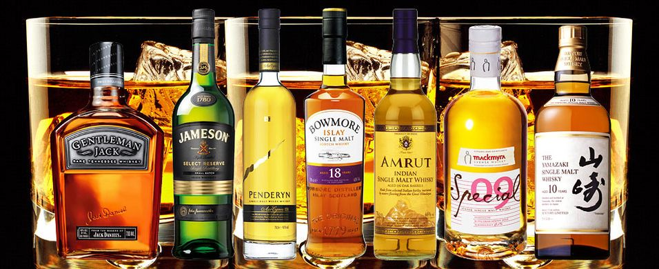 Whiskykurs 28. januar i Oslo - Whisk(e)y around the world