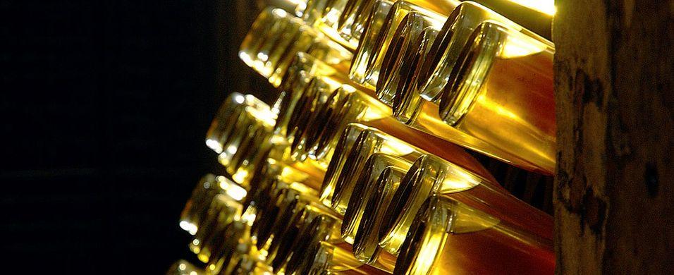Historien om Cristal champagne