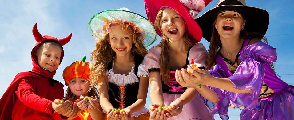 Ha godteriene på lur til halloween
