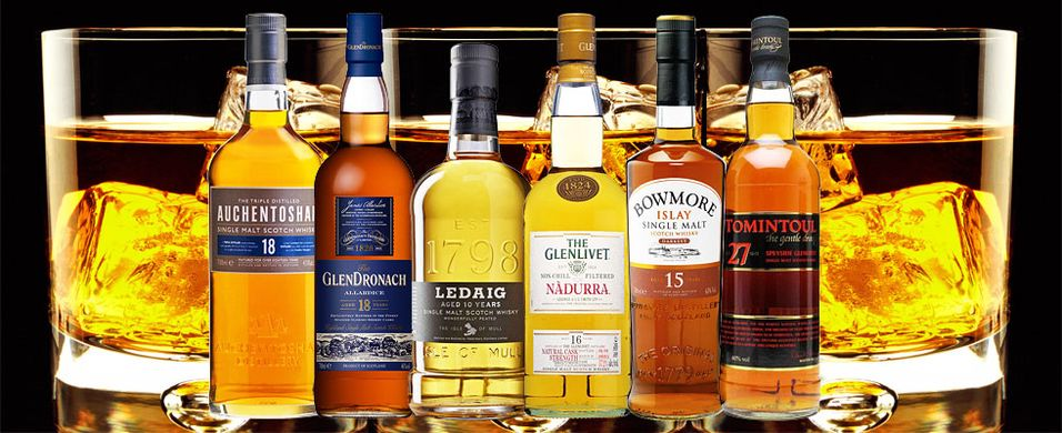 Whiskykurs 22. oktober i Oslo - Skottlands fabelaktige maltwhiskyer
