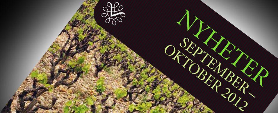 Nyhetene på polet september 2012 – Øl, whisky og øvrige produkter