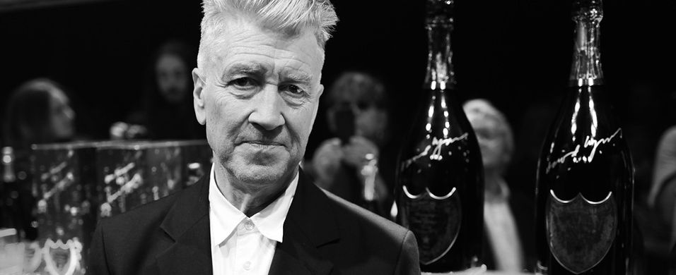 David Lynch lager design for Dom Pérignon