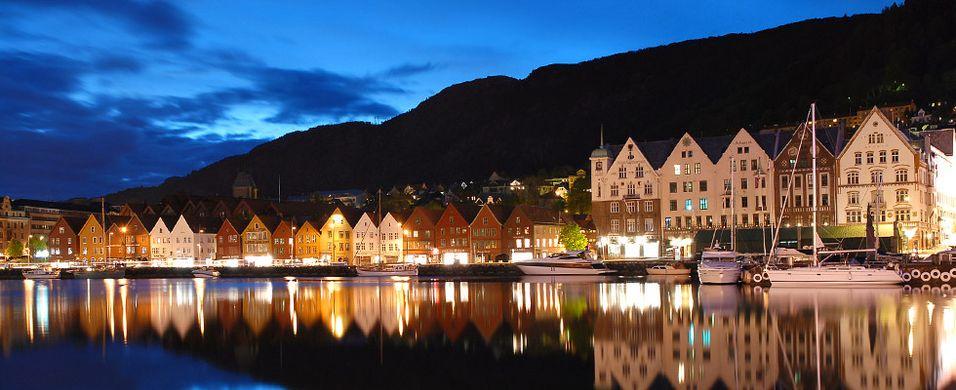 Politiet i Bergen stengte spisesteder
