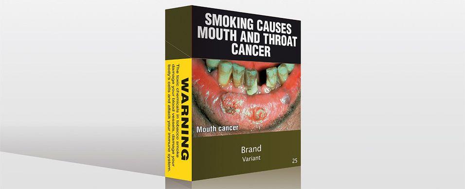 Alle sigaretter må se like ut