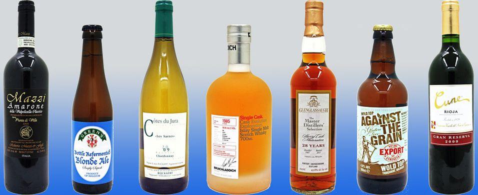 Nyhetene på polet januar 2012 - Whisky og annet brennevin