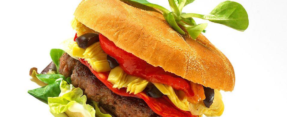 DAGENS RETT: Prøv en spansk vri på burgeren i kveld