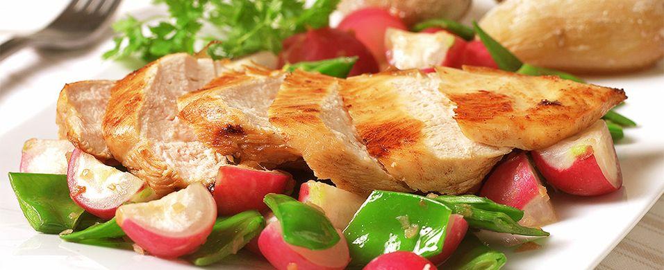 DAGENS RETT: Gjør kyllingmiddagen ekstra frisk