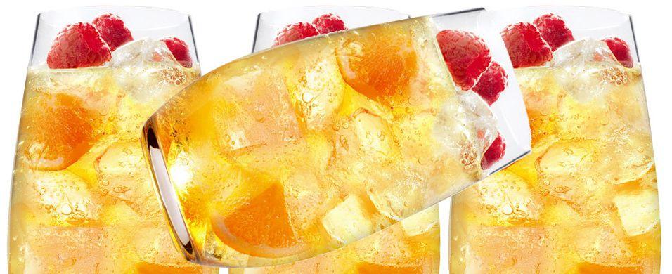 Søt og trendy drink med appelsinlikør