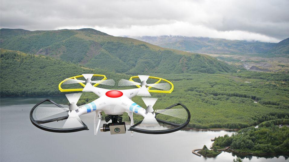NASA skal teste ut «lufttrafikk»-tjeneste for droner