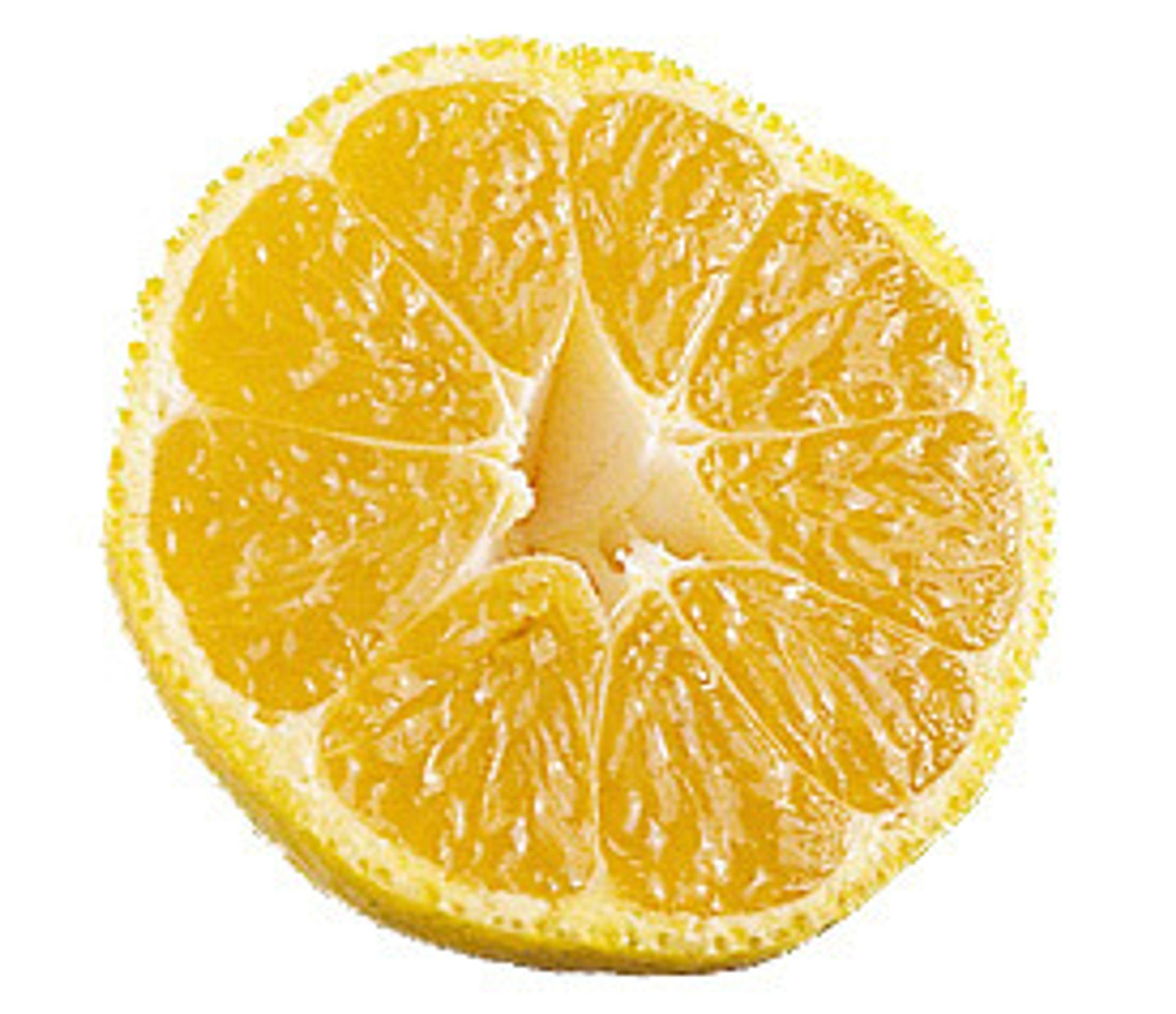 hva heter gule frukter