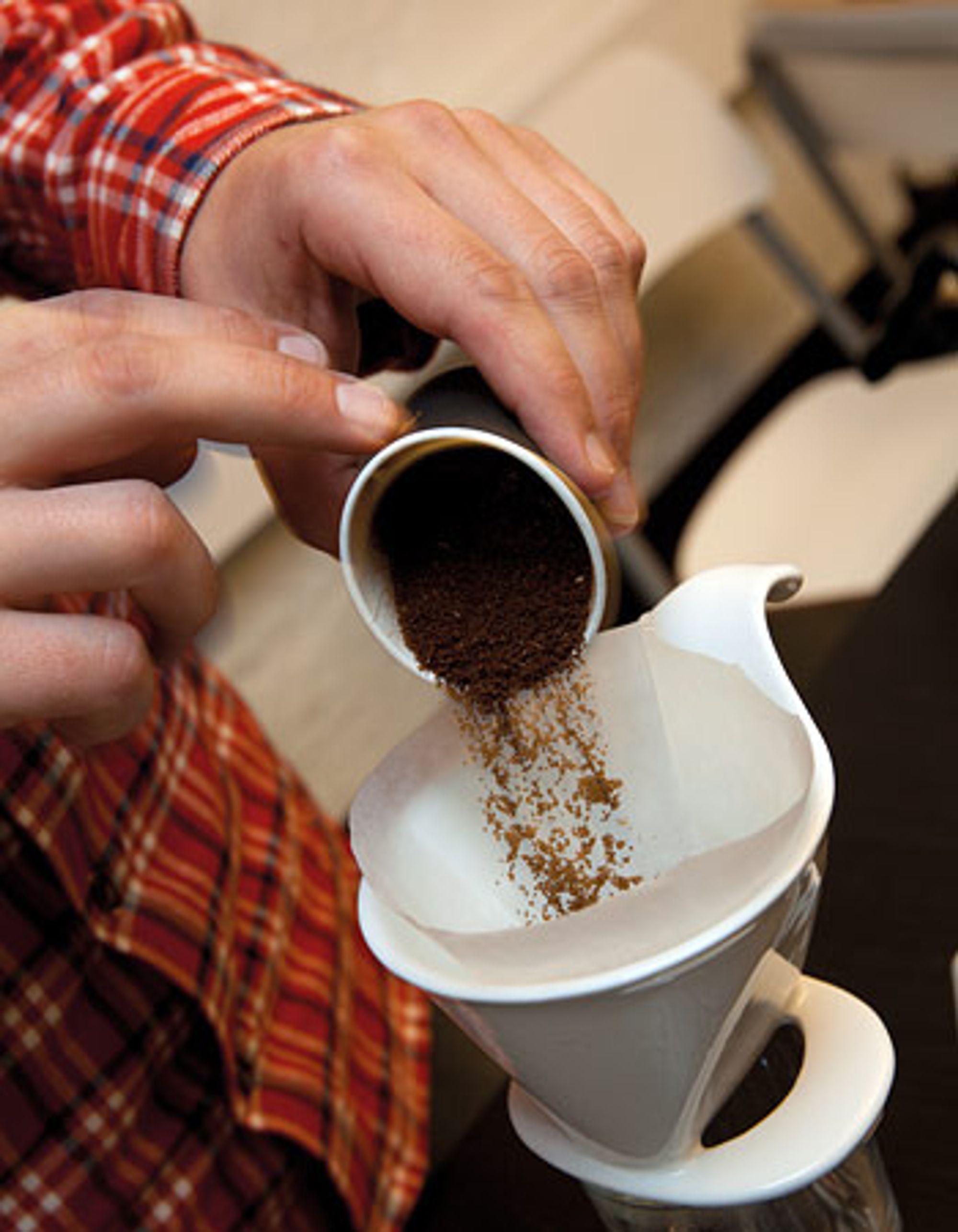 kaffe filter kolbe