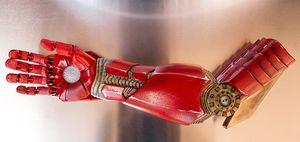 Slik ser Alex' nye protese ut.