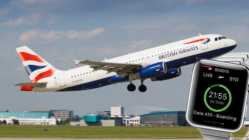 British Airways blir blant de første med egen Apple Watch-app.