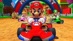 Nintendo bruker spillfigurene sine i et stort antall forskjellige spill. Her kjører Mario go-kart.