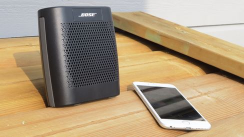 Bose SoundLink Colour er kompakt.