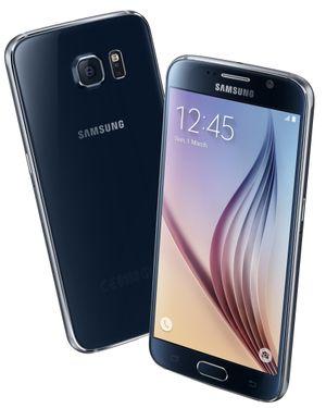 Det er den svarte 32 GB-utgaven av Samsung Galaxy S6 du kan vinne.