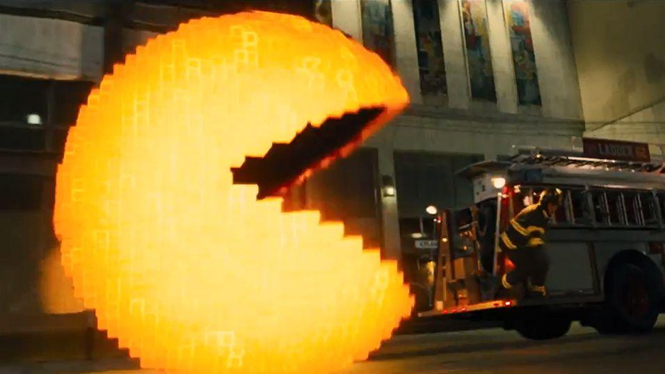 Her går Pac-Man til angrep