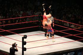 WWE arrangerer wrestlingkamper og har nulltoleranse for piratkopiering.