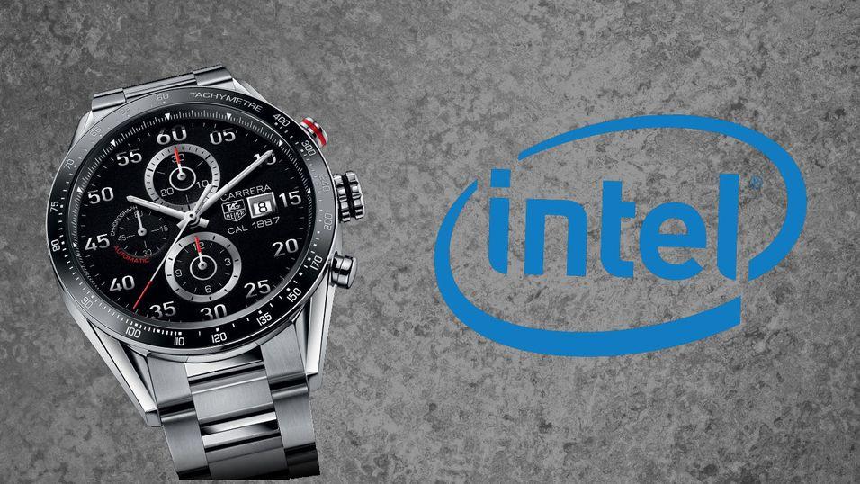 Tag Heuer skal lage smartklokke sammen med Intel