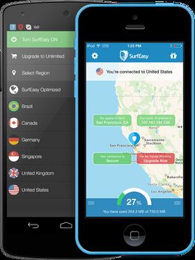 SurfEasy tilbyr en brukervennlig og enkel VPN-løsning for Internett-surfere.