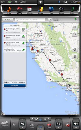 Oppdateringen tar ladestasjoner med i ruteplanleggingen.