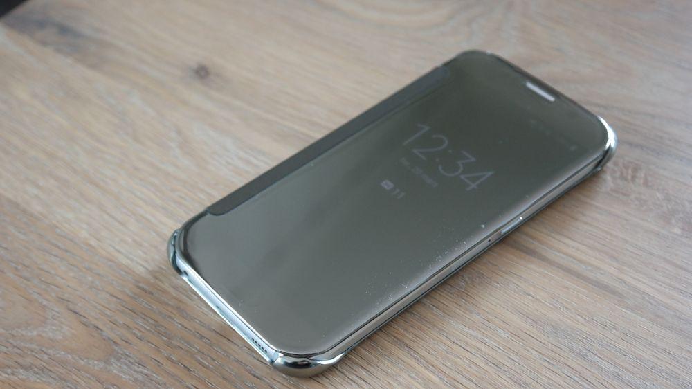 Samsungs nye deksler har transparent speilskjerm.