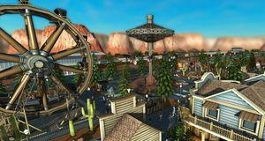 Lover bedre grafikk i RollerCoaster Tycoon World