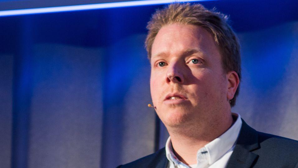 Ice-sjef Eivind Helgaker vil ikke kommentere oppslaget i Finansavisen. Eierselskapet AINMT Holdings kan ende med en verdi på rundt åtte milliarder kroner.
