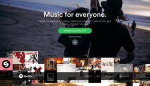 Spotify er en populær tjeneste.