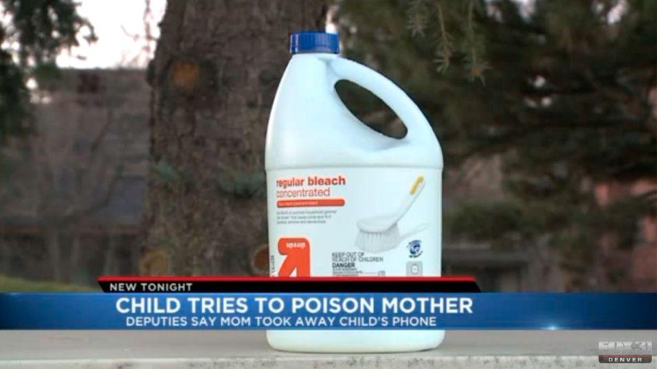 Moren tok datterens iPhone - så fant hun blekemiddel i smoothien