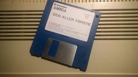 "3,5""-disketten var toppmoderne da Amiga kom ut."