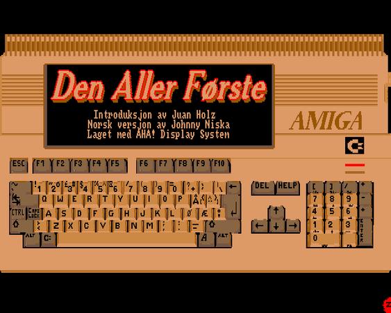 Amiga 500 – en ny verden for databrukere som var vant med Commodore 64 og andre mikrodatamaskiner.