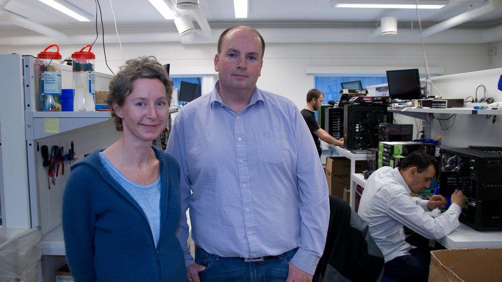 Hilde Hansen Smeland og Tron Atle Løvig i Multicom