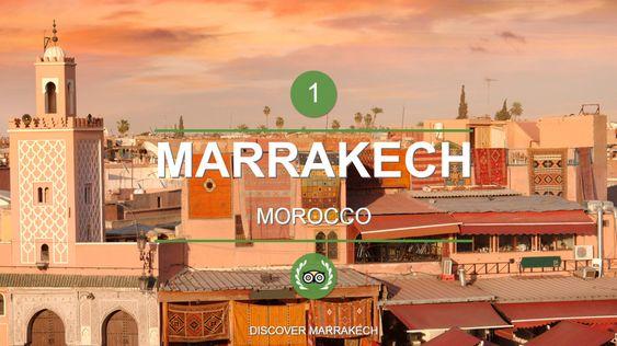 Marrakech er det beste reisemålet i verden, skal vi tro Trip Advisor.