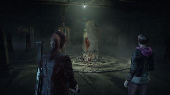 En gåte i mørket – spiller leker med et par gåter i løpet av kampanjen.