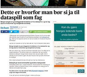 Tord Hustveit, leder i Unge Venstre, mener dataspill er en viktig del av ungdomskulturen.