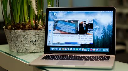 Apple MacBook Pro Retina 13 med «Force Touch» (Tidlig 2015)
