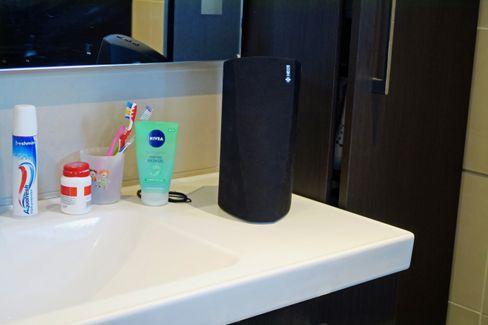 Hva med en HEOS 3 på badet?