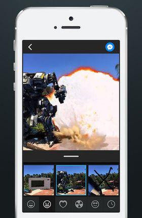 Ta et bilde og velg blant hundrevis av gratis 2D eller 3D-effekter som du kan legge på med PingTank.