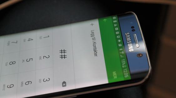 Med sin buede skjerm blir Galaxy S6 Edge lagt merke til.