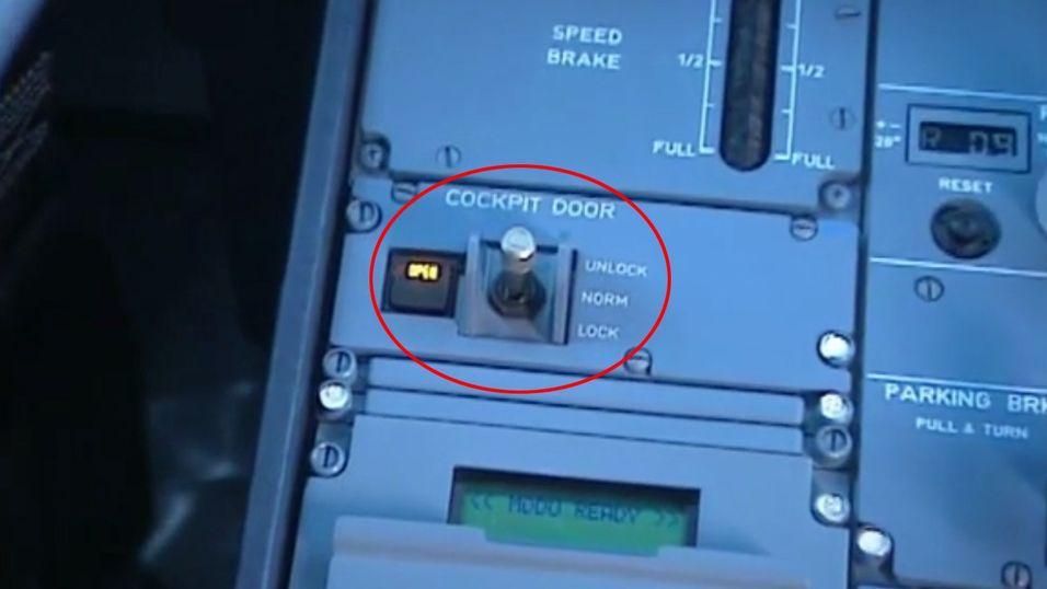 Slik virker cockpit-døren på ulykkesflyet