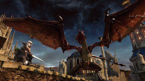 Det blir nok ikkje lettare å leve når Dark Souls II blir større.