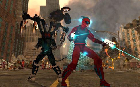 City of Heroes var et herlig fargerikt alternativ til de mer tradisjonelle onlinerollespillene.