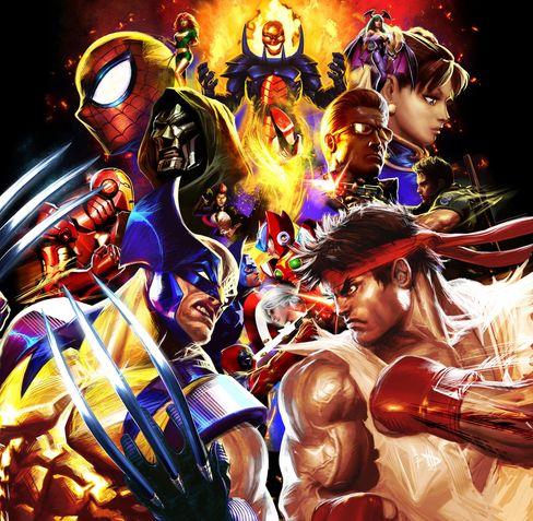 Marvel vs. Capcom-serien skapte drømmeslagsmål mellom spillhelter og superhelter.
