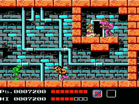 Turtles på Nintendo 8-bit var en perfekt kompanjon til TV-serien.