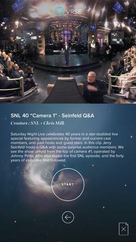 Se Jerry Seinfeld-showet som virtuell publikummer.