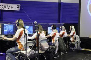 Også under årets ByLAN vil det bli e-sport-konkurranser. Bilde fra tidligere arrangement.