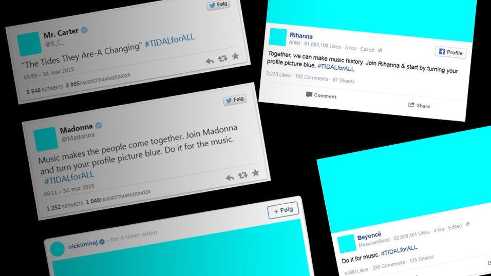Derfor gjør Jay-Z og vennene hans profilene sine lyseblå
