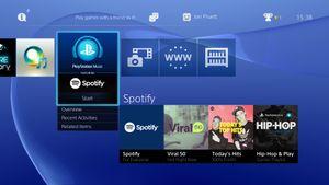 Nå er Spotify tilgjengelig på PlayStation 4 og 3