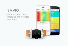 Emvio har en egen mobilapp som lar deg holde oversikt over stressende aktiviteter.